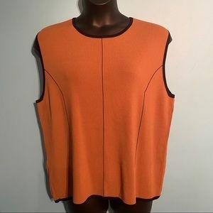 Finity women's sleeveless sweater